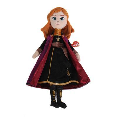 Sparkle Frozen Anna Push Doll