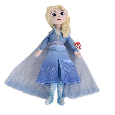 Sparkle Queen Elsa Plush Doll