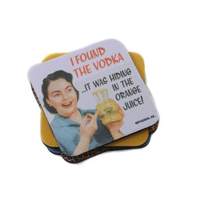 VODKA HIDING COASTER