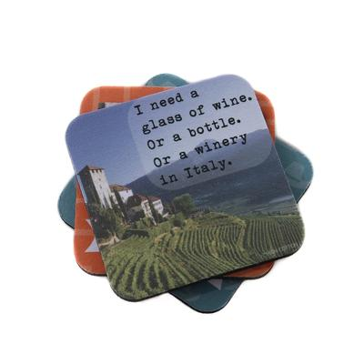 WINERY IN ITALY COASTER