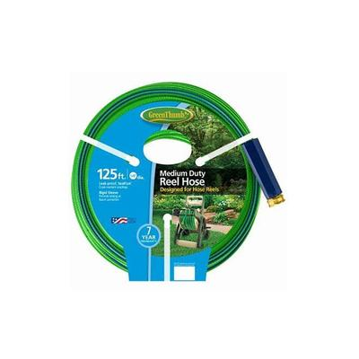 Green Thumb Reel Hose, Medium Duty