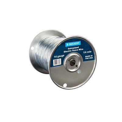 14-Gauge Electric Fence Wire, .5-Mile or 2,640-Ft.