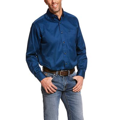 Ariat Men's Long Sleeve Solid Twill Shirt
