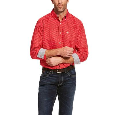 Ariat Men's Long Sleeve Clemens Wrinkle Free Shirt
