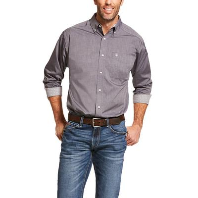 Ariat Men's Pinpoint Oxford Wrinkle Free Shirt
