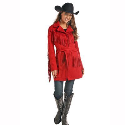 Panhandle Slim Women's Suede Fringe Coat