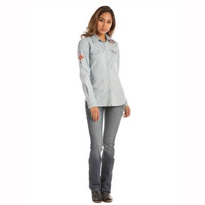 Panhandle Slim Women's Long Sleeve Buffalo Snap Shirt