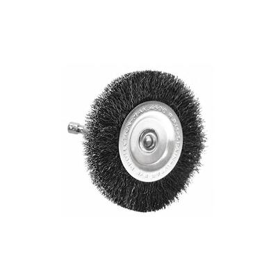 Coarse Drill Radial Wire Brush, 4- Inch By Century Drill & Tool