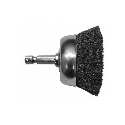 Coarse Drill Cup Wire Brush, 2- 3/4- Inch