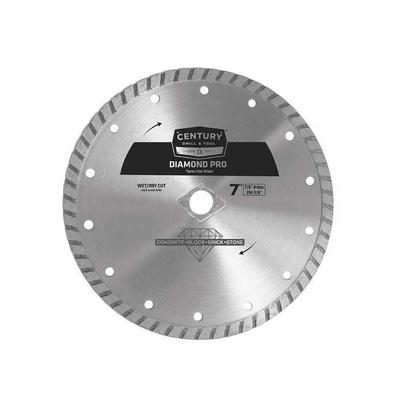 Professional Turbo Rim Diamond Pro Saw Blade, 7