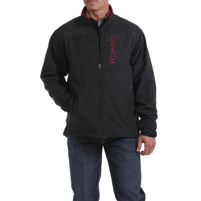 Cinch Men's Charcoal and Black Concealed Carry Bonded Jacket