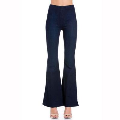 O2 Denim Women's High Rise Flare Jeans