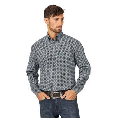 Wrangler Men's Long Sleeve Western Shirt