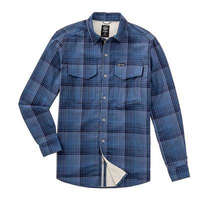 Wrangler Men's Long Sleeve Thermal Lined Flannel Shirt