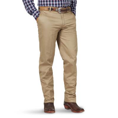 Wrangler Men's Flat Front Casual Pants