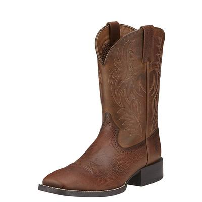 Ariat Men's Brown Wide Square Toe Western Boots