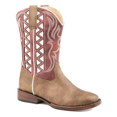 Roper Zig Zag Red Shaft Boot