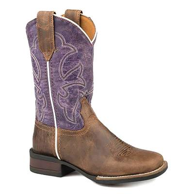 Roper Vintage Purple Shaft Boots