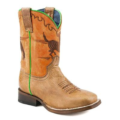Youth Square Toe Bronco Boot