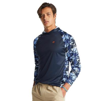Southern Tide Men's Long Sleeve Graffiti Camo Performance Hoodie