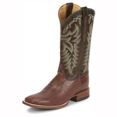 Justin Men's Pascoe Kango Smooth Ostrich Boots