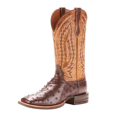 Ariat Men's Tobacco Ostrich Relentless Boot