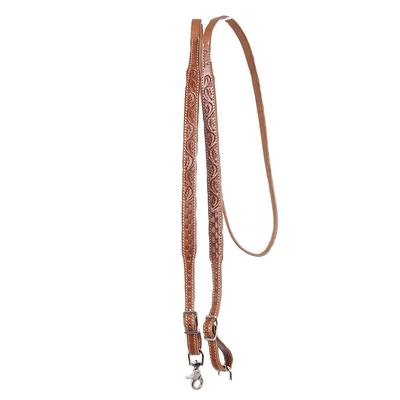 Hand Tooled Trigger Snap Reins