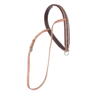 Barbed Wire Tooled Noseband