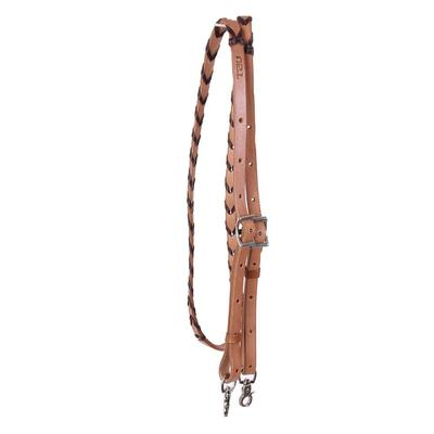 Brown Leather Laced Reins