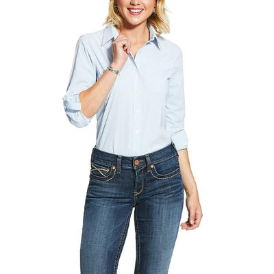 Ariat Women's Blue Venttek Shirt