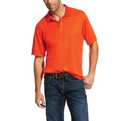 Ariat Men's Tangerine Tek Polo