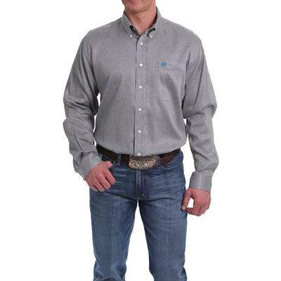 Cinch Men's Tencel Gray Shirt
