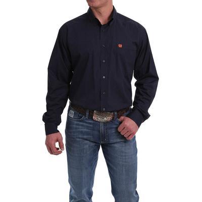 Cinch Men's Navy Button-down shirt
