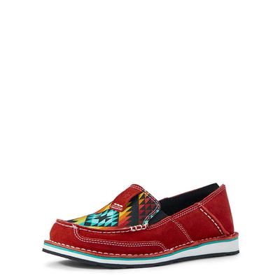 Ariat Women's Red Neon Aztec Cruiser