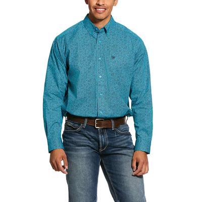 Ariat Kadewater Print Stretch Classic Fit Shirt