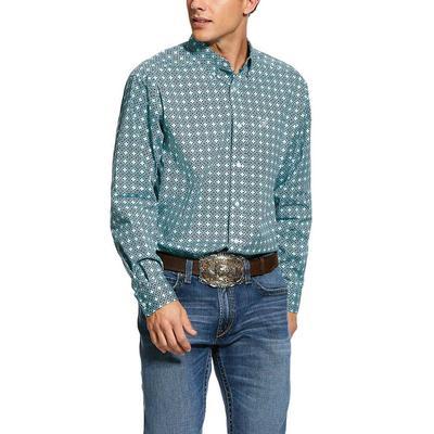 Ariat Kerrington Print Stretch Classic Fit Shirt