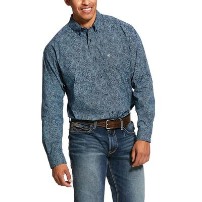 Ariat Longmont Print Stretch Classic Fit Shirt