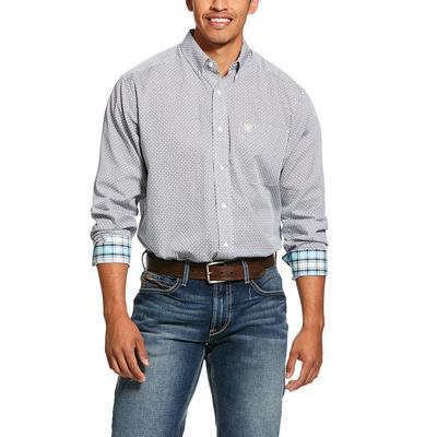 Ariat Wrinkle Free Memphis Print Classic Fit Shirt