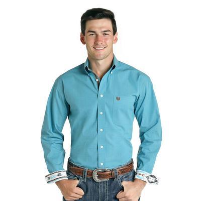 Panhandle Men's Blue Button Down