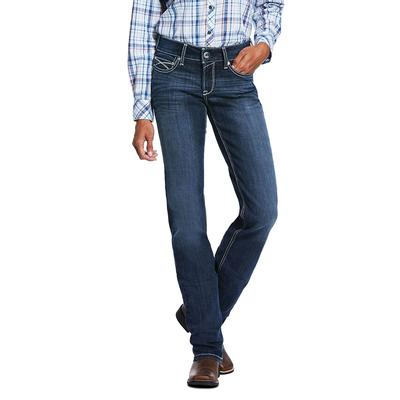 Ariat R.E.A.L.Mid Rise Arrow Fit Lucia Straight Jean