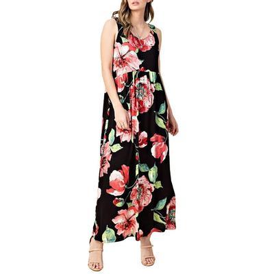 Kori Women's Floral Maxi Dress