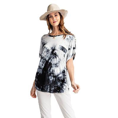 Watercolor Fashion Knit Top