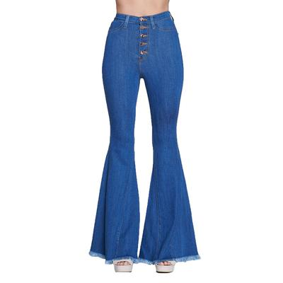 Vibrant Miu High Waisted Flare Jean