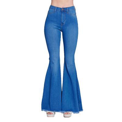 Vibrant Miu High Waisted Light Wash Jeans
