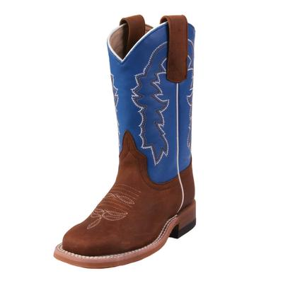 Horse Power Youth Sugared Blue Jean Boots