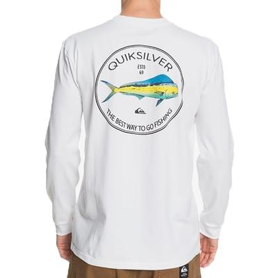 Quicksilver Fish Hero Long Sleeve T-shirt