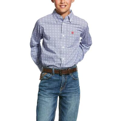 Ariat Boy's Glaston Button Down Shirt