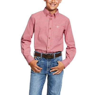 Ariat Boy's Grover Button Down Shirt