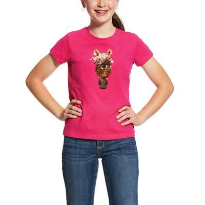Ariat Girl's Sequin Horse T-Shirt
