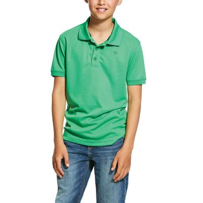 Ariat Boy's Charger Polo